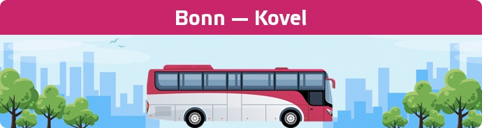 Bus Ticket Bonn — Kovel buchen